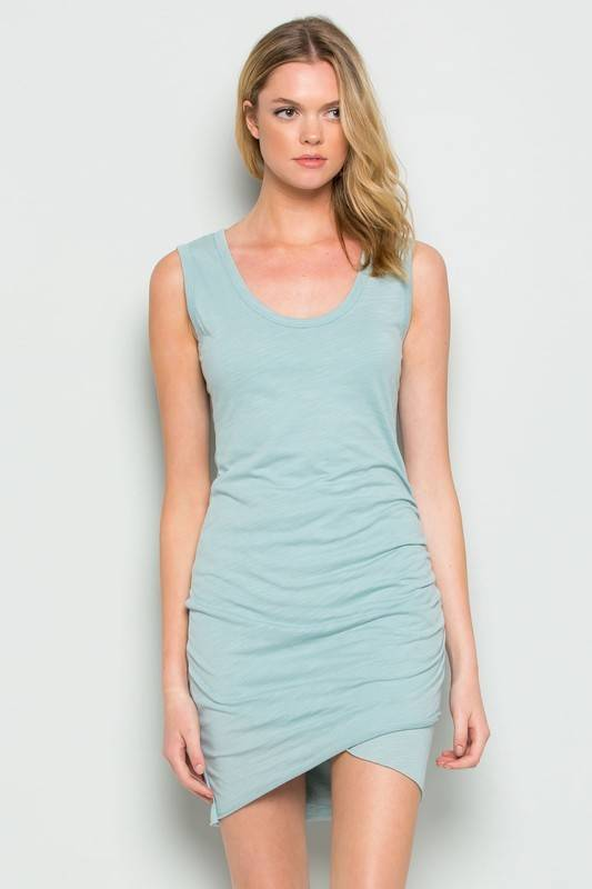 wasabi + mint wmd1486 rouched dress