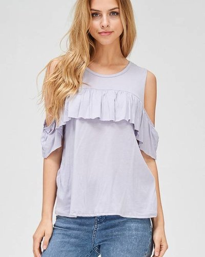 wasabi + mint wmt1609 cold shoulder top