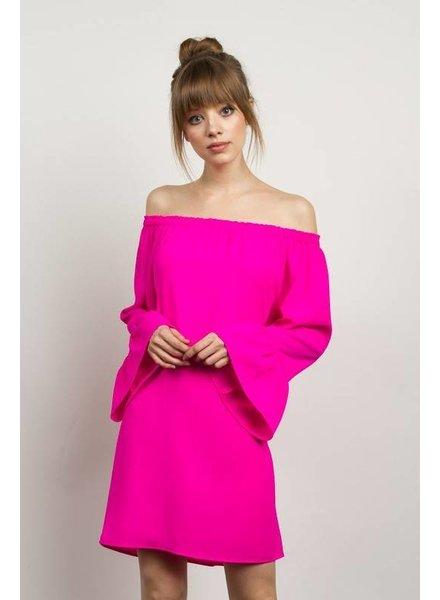 tcec ctd2486 off shoulder dress