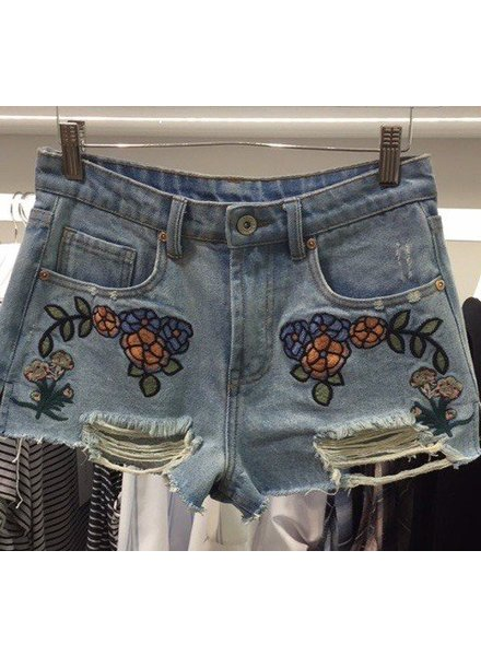 Dance  & Marvel Dmp1410 embroidery shorts