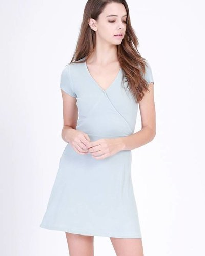 double zero 17c869 wrap dress