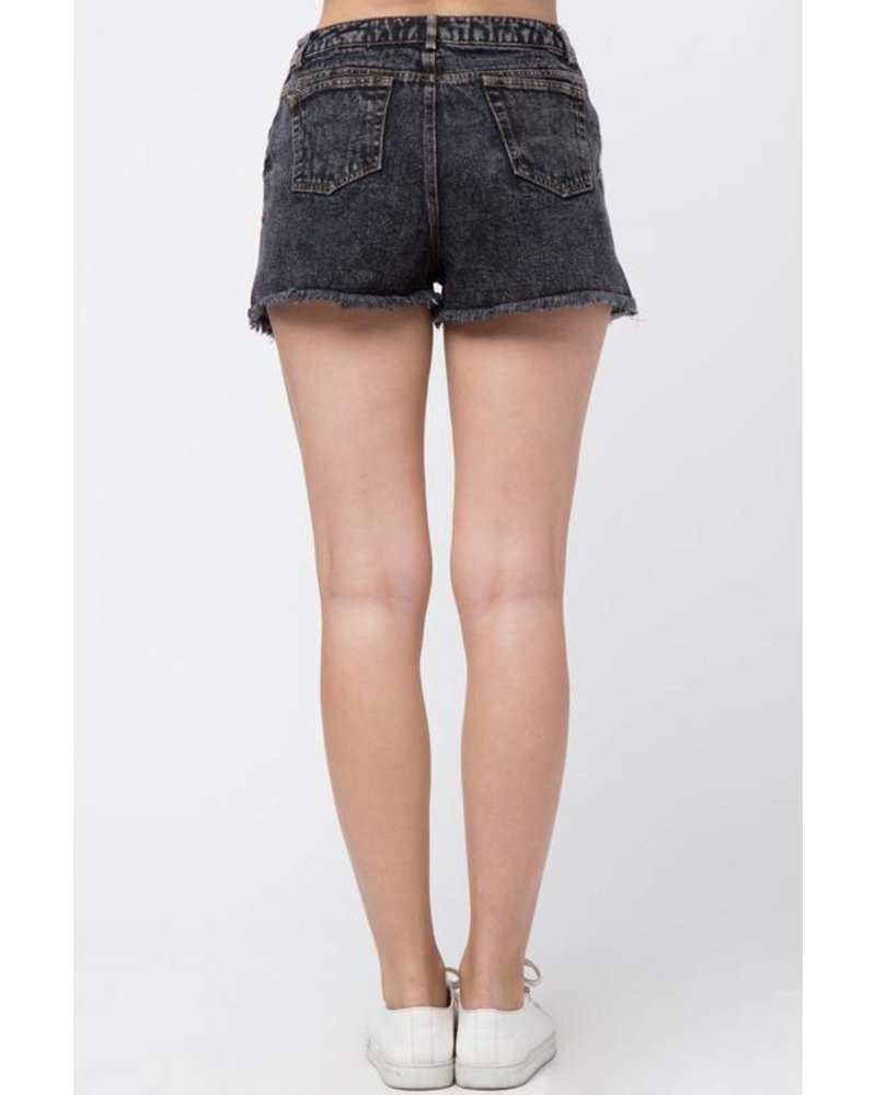 vp71051 embroidered shorts