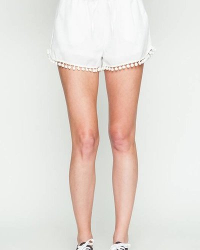 Very J vp71020 tassel trim shorts