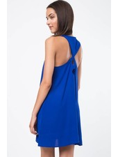 Very J VD32067 detailed back dress