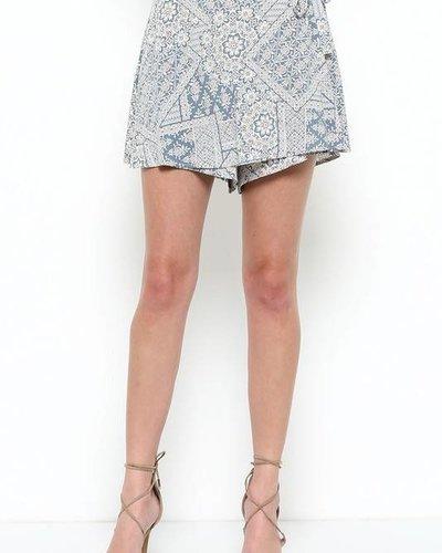 Sole Mio S7P1856N05 print shorts