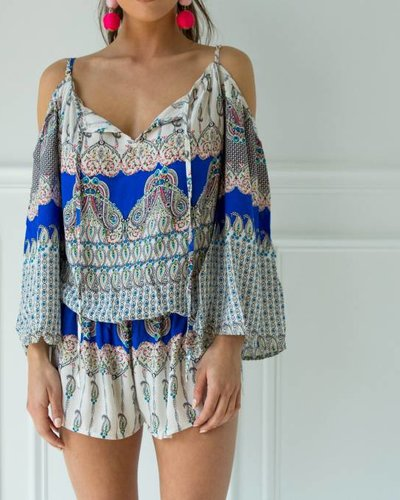 Aakaa r90154a bell slv romper