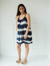 Aakaa d21044h tie dye dress