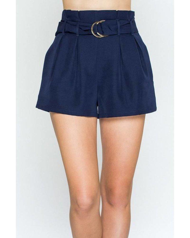 JP3741 belted shorts