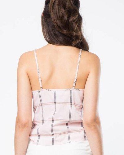Love Riche lt23366 tie waist cami top