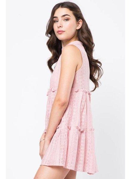 Love Riche ld41765 lace tier dress