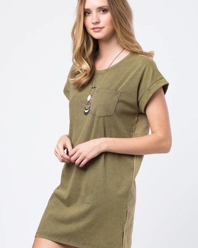Love Riche LD41617 pocket t-shirt dress
