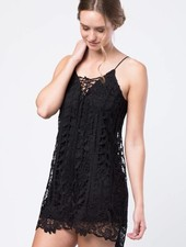 Love Riche ld41614 oversized lace dress