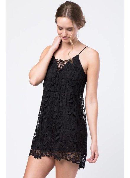 Love Riche ld41614 oversized lace dress