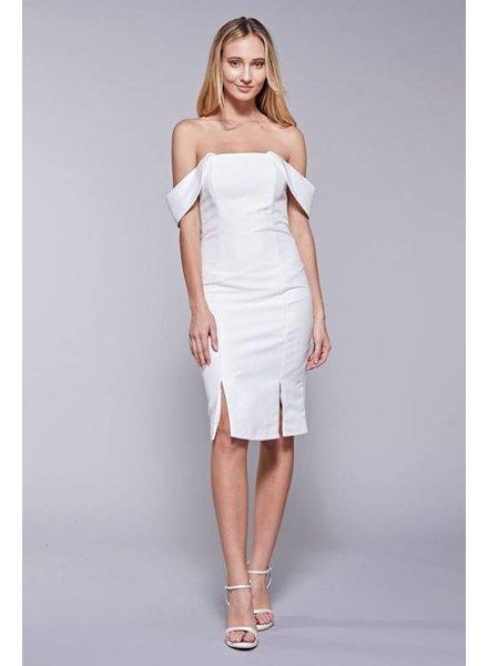 Do & Be RB13933 off shoulder dress