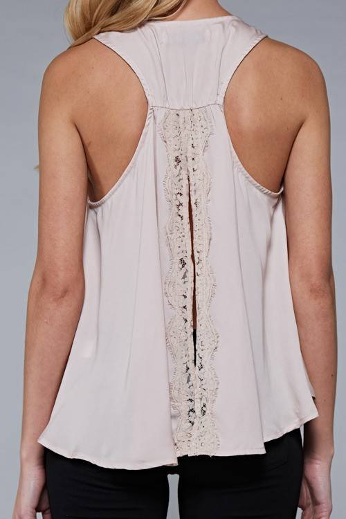 Do & Be R13716 lace trim top