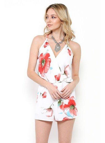 MI IN Fashion INC. byd6168-ra floral romper