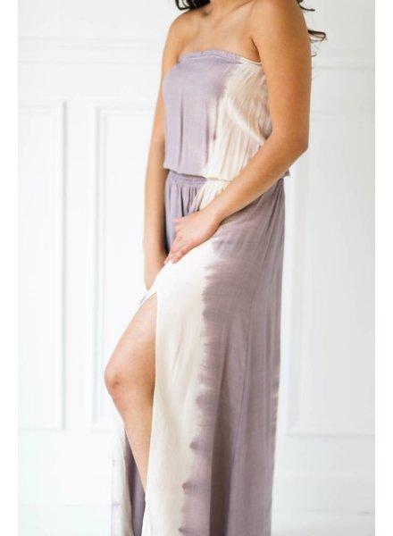 Aakaa d21203a tie dye maxi dress