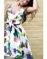 Monaco d9006 garden print dress