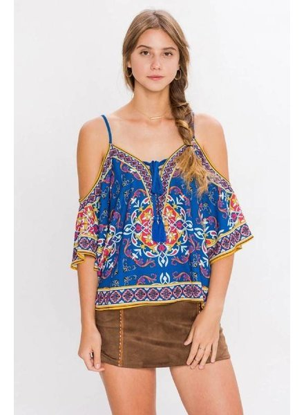Flying Tomato it9598 print top
