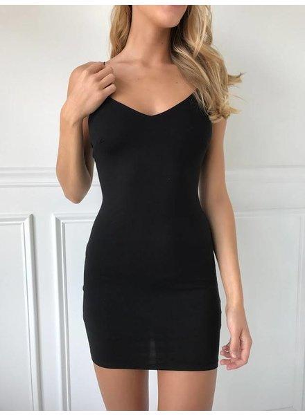 Vintage Shop VD4715 Black dress