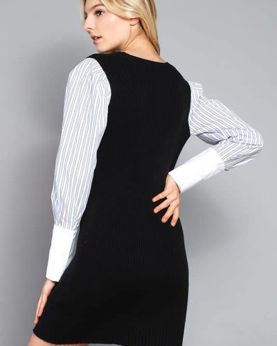 Do & Be R14472QPL sweater dress