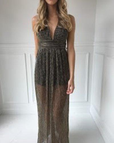 Sole Mio I7D1421 twist back dress