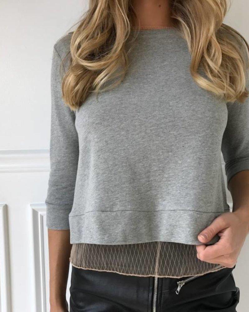 Dance  & Marvel dmt2541 mesh sweatshirt