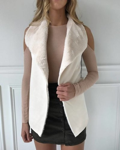 On Twelfth 1220066 faux vest