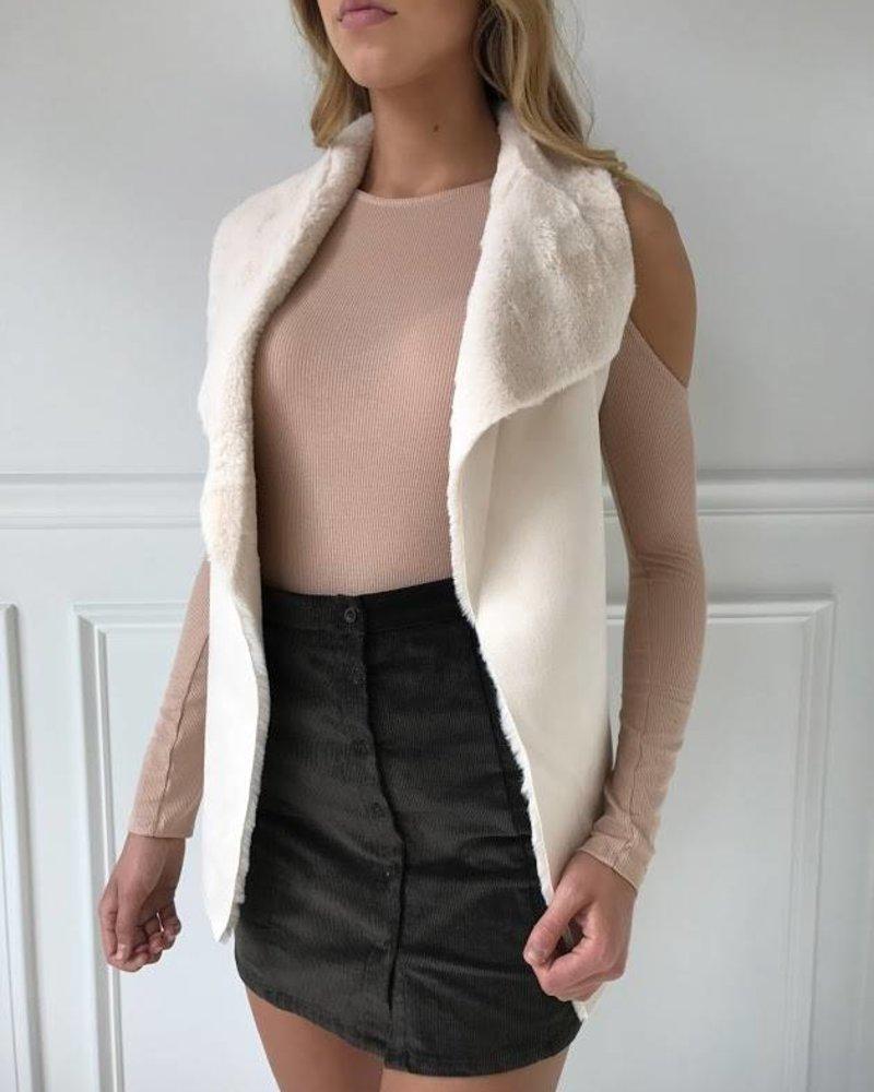 On Twelfth 1220066 faux vest