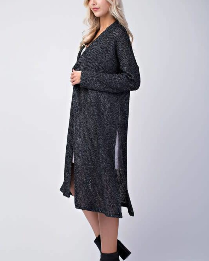 final touch C15992A open side cardigan