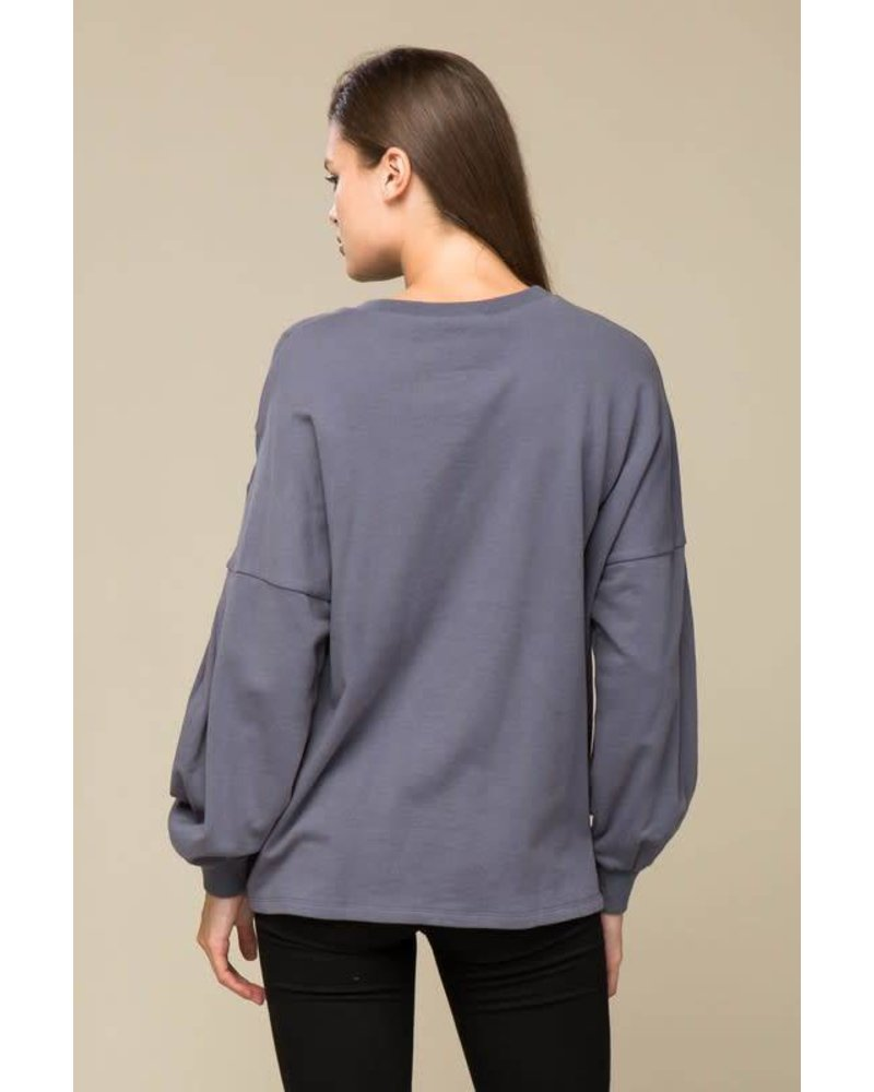AT02726 French terry top