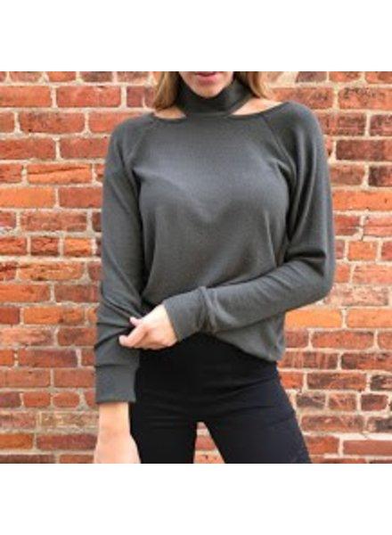 Sweet Claire 2522KT108 longsleeve mock sweater