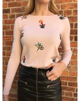 On Twelfth 1220338 mini flower sweater