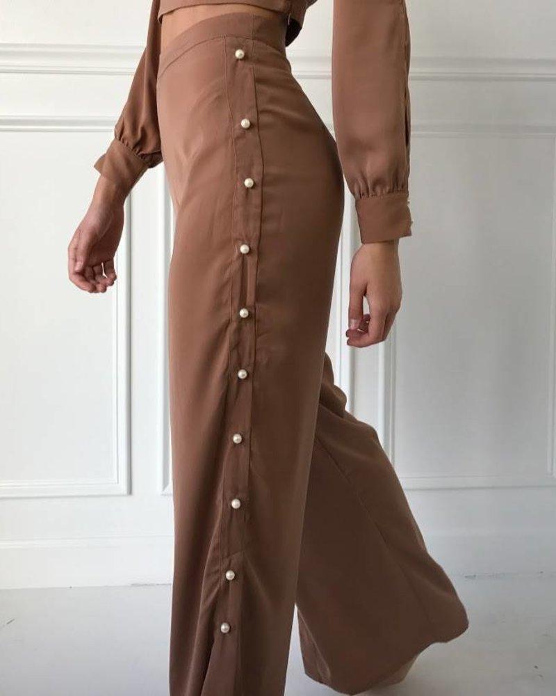 A Peach CT5558 long sleeve crop top