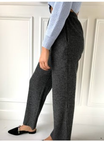 double zero D17H969 ribbed sweater pants