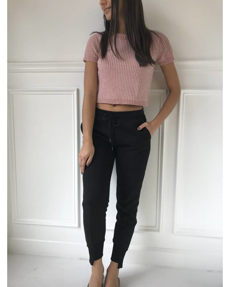 FW2051 cropped sweater