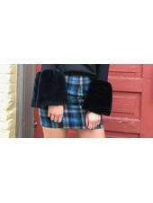 HYFVE 15N741 plaid mini skirt
