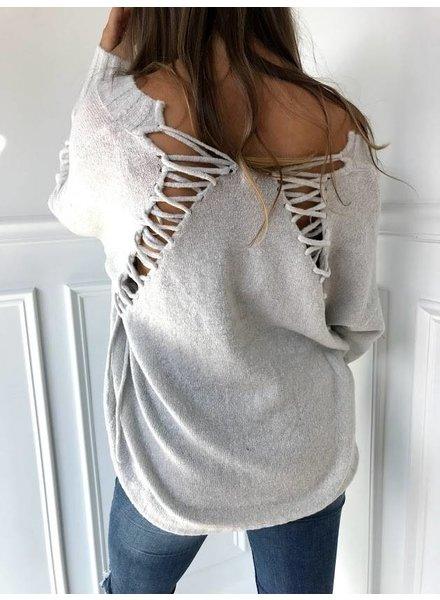 uniq SW70353 v neck sweater
