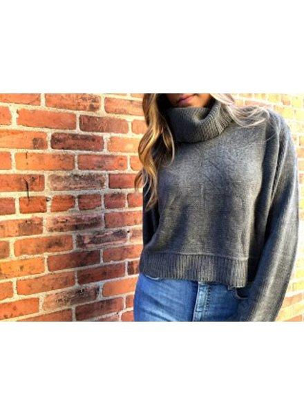 uniq SW70374 turtle neck sweater