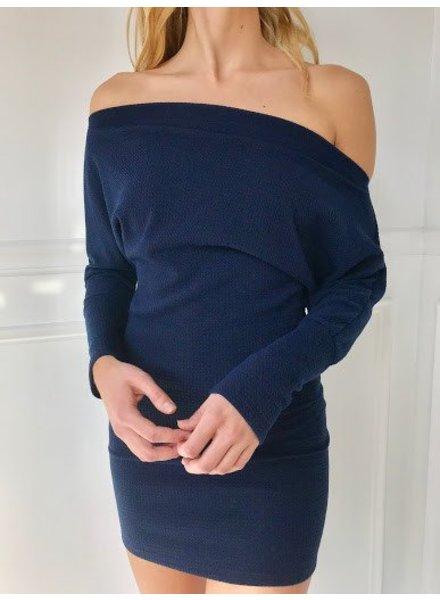 Blue Blush bd8336-10 off shoulder dress