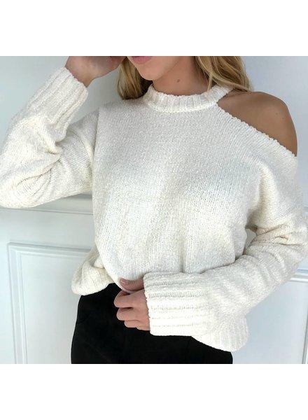 Honey Belle 7it1930rb cutout sweater