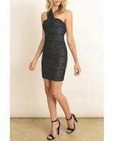 dress forum fd2059 bodycon one shoulder dress