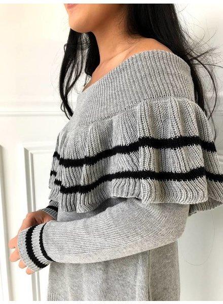 Very J 12w1248v off shoulder sweater