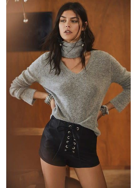 olivaceous JT57-15 sweater choker sweater