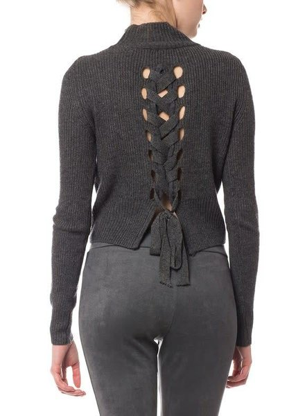 olivaceous 97-102LTL wool sweater