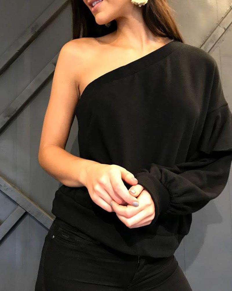 Le Lis ht7778 one shoulder top