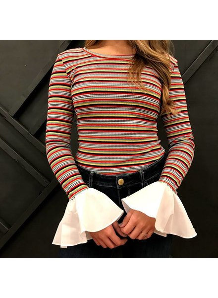 36point5 TS9003 bell sleeve top