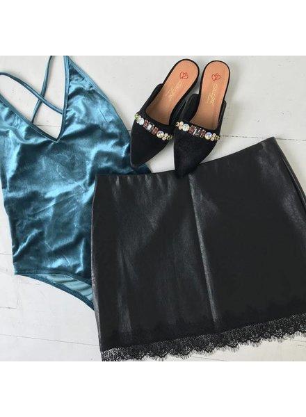 makers of dream js137Lt velvet open back bodysuit