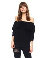 tcec cw2230 off shoulder sweater