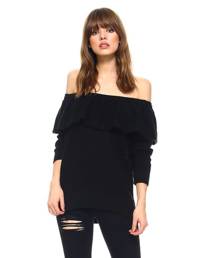 tcec cw2230 off shoulder sweater